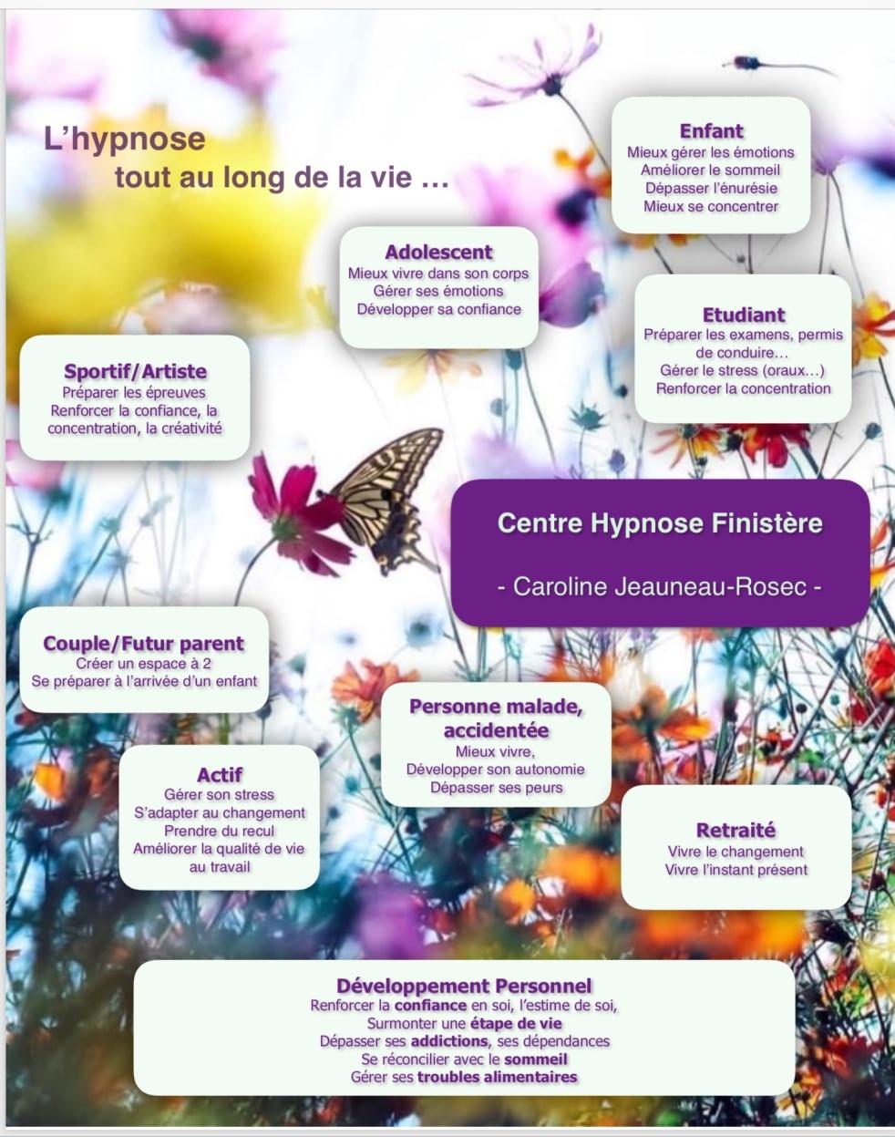 Hypnose tout au long de la vie